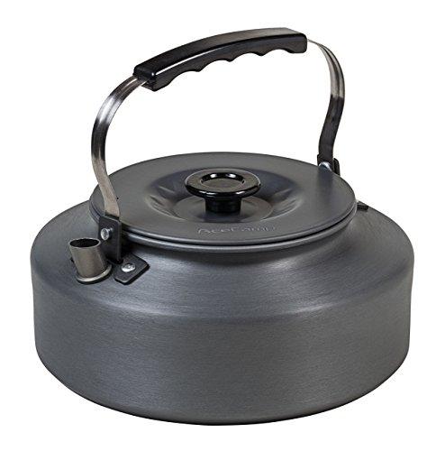 AceCamp Camping Teekessel, Ultraleicht - 215 g, Wasserkocher, Teekanne, Kaffeekanne, Eloxiertes Aluminium, 1.6 l, grau, 1665