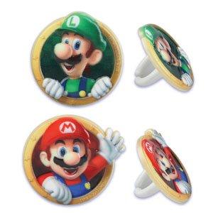 Super Mario Brothers Cupcake Ringe -