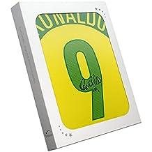 exclusivememorabilia.com 2004-06 Camiseta casa Brasil firmada por Ronaldo Luis Nazário de Lima