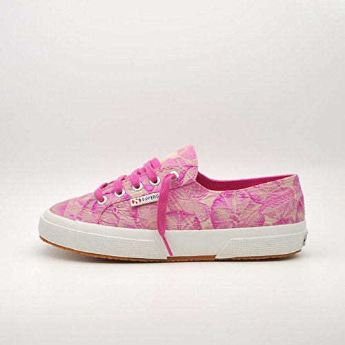 Superga  2750 Fabricw Vanity, Baskets mode pour homme Rose - Pink (Fuxia)
