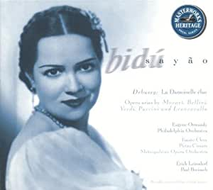 Bidu Sayao: La Damoiselle elue / Opera Arias Original recording remastered Edition by Sayao, Bidu (1997) Audio CD