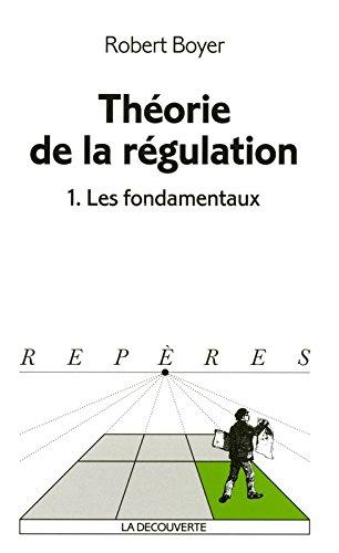 Thorie de la rgulation,  1 : Les fondamentaux
