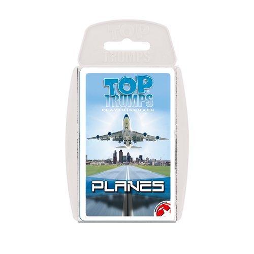 Aviones de pasajeros Top Trumps juego de cartas