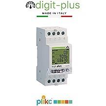 - Plikc - Digit Plus PLK267606. Contador Digital de Energía monofásico Multi Banda horaria