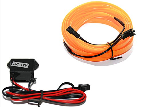 EL Barre Lumineuse - Éclairage intérieur Orange - Pas de LED de 1 m (6,99 €/m) - 5 m (3,59 €/m).