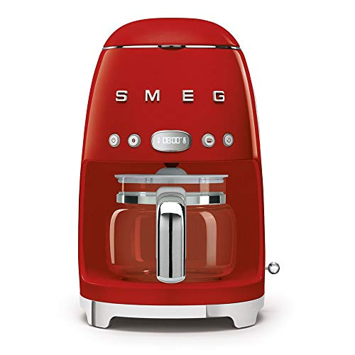 Macchina da caffè espresso DCF02RDEU colore rossa