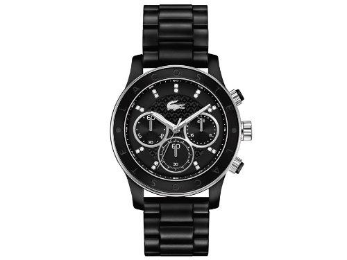 Lacoste Damen-Armbanduhr Analog Quarz Edelstahl 2000806