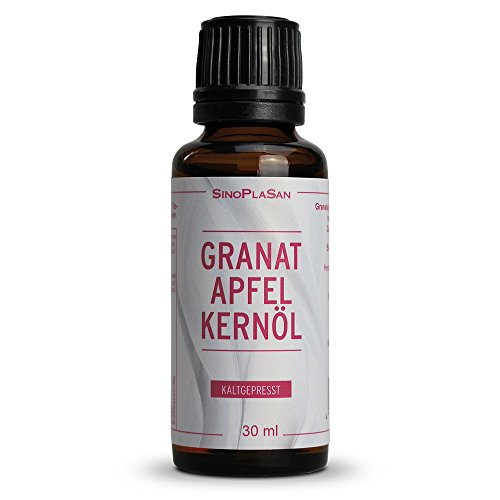 Granatapfelkernöl 30ml, 100% naturrein (ohne jegliche Zusatzstoffe)