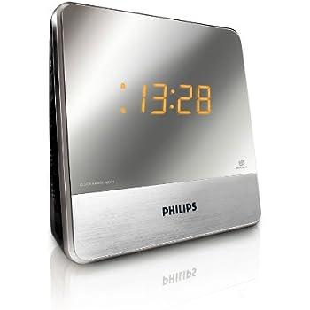 philips aj2000 radio r veil avec radio fm double alarme luminosit r glable batterie de. Black Bedroom Furniture Sets. Home Design Ideas