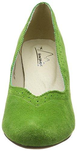 Andrea Conti Ladies 3001540 Pumps Green (verde Erba 199)