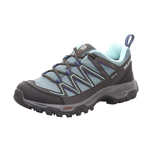 Salomon L40780200 Arcalo 2 Gore-Tex® - Scarpe da Trekking in Rete di Nylon, Impermeabili, Blu (Azzurro), 38 2/3 EU