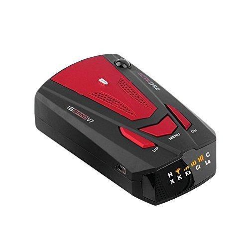 Radarwarner Radar Detector, AO26 16 Band Laser/Radar Detektor Voice Alert(Englisch und Russisch) Fahrzeuggeschwindigkeit Alarm System mit 360 Grad Erkennung, VG-2 Immunity Stadt / Autobahn Modus, Auto Mute, LED Anzeige