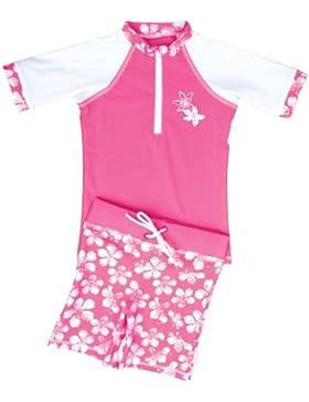 Fedjoa - Mädchen Schwimmanzug mit UV-Schutz 50+ - HAWAI