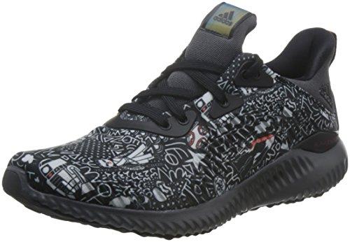 check out 3bc27 00890 adidas Alphabounce Starwars J, Zapatillas de Deporte Mujer, Negro  (Negbas Gricin