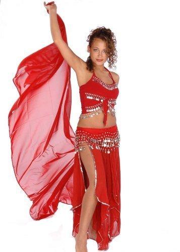 chtanz Kostüm-Set | skirt-veil, Tank & Hip Schal | wieder richtig (Aufwändige Tanz Kostüme)