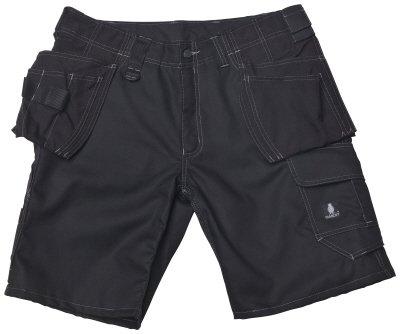 Mascot® Hardwear Arbeitsshorts Zafra, Größe:47; Farbe:schwarz
