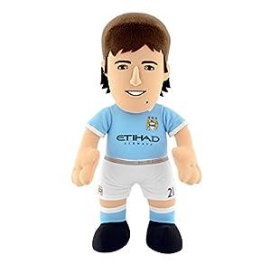 """Bleacher Creatures bc10replds/Mac (""""Manchester City FC–David Silva Bleacher criatura"""" peluche figura"""