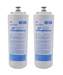Aqua-Pure AP5527 5598101 Under Sink Reverse Osmosis Replacement Filter Cartridge,Pack of 2 by AquaPure