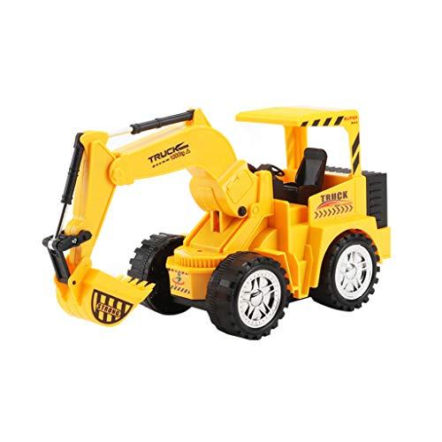 Hengzi RC Wireless Dumper Truck Toy, Remote Control Electric Engineering Truck Vehicles (C)