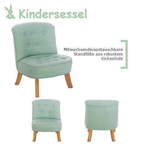 Somebunny 4055168102284 DESIGN Kindersessel, grün