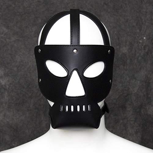 SLH Erotische Krawatte Kopfbedeckung Tau Augen Teufel Kopfbedeckung Großhandel Benutzerdefinierte Flirt Maske Cosplay Kostüm Stirnband Unisex Kopfbedeckung -