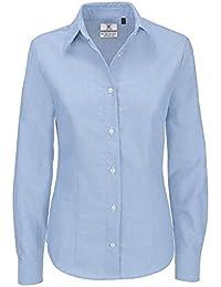 658d78374211a Amazon.es  Camisa Oxford Mujer - Blusas y camisas   Camisetas