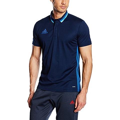 adidas Condivo 16cl Polo, todo el año, hombre, color Azul - collegiate navy/Blue/Bright cyan, tamaño XXXL