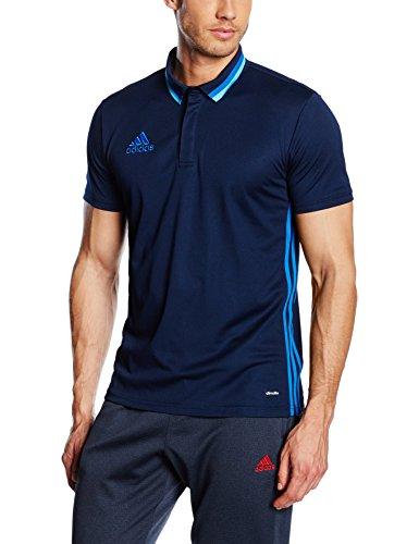 Adidas Men Con16 Cl Polo - Blue/maruni/azul, Medium