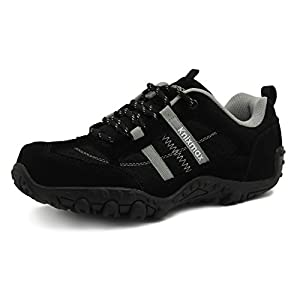 41sJQUs3KBL. SS300  - Knixmax Women's Men's Lightweight Walking Trainers Hiking Trekking Approach Shoes Breathable Low Rise Outdoor Boots