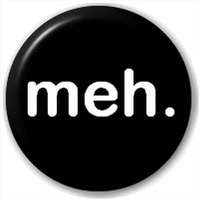 (D Pin) 25mm Lapel Pin Button Badge: Meh.