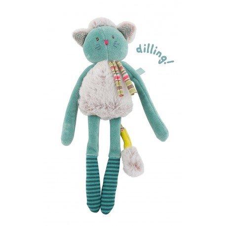 Rassel Katze blau Die Pachats-Moulin Roty -