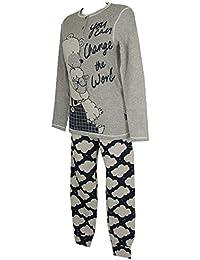 Pijama mujer manga larga HAPPY PEOPLE ArtÃculo 3910