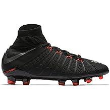 official photos e1642 c82d4 Nike Unisex-Kinder Jr. Hypervenom Phantom 3 Dynamic Fit Fg Fußballschuhe