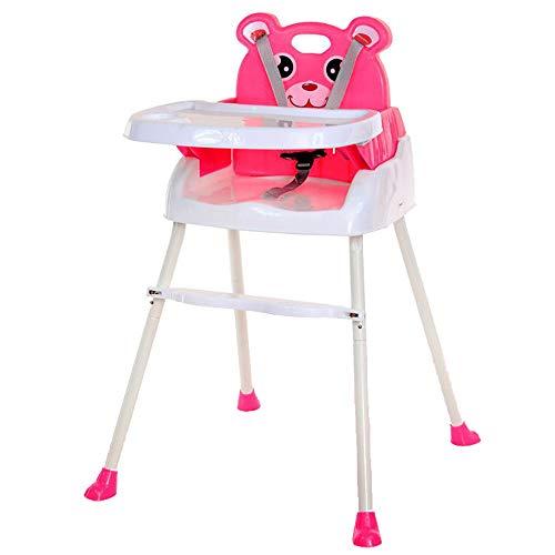 QIANGUANG Trona Modernas sillas altas para sillas de bebé 4 en 1 con bandeja Cinturón de seguridad...