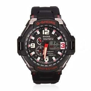 Bheema swidu swi- 033 de cas de rectangle de montre bracelet en cuir femmes de poignet
