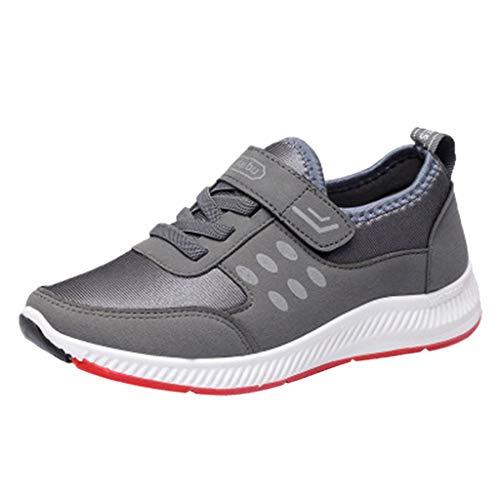Schuhe, Frauen Damen beiläufige Müßiggänger Turnschuhe Flats Atmungsaktiv Stretch Stoff SchuheDamen stilvoll Klassisch Flache Sandalen Strandschuhe