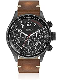 Timecode Reloj de cuarzo Man Tc-1011-11 Marrón 49 mm