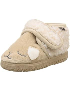 victoria Unisex Baby Bota Velcro Animales Flache Hausschuhe