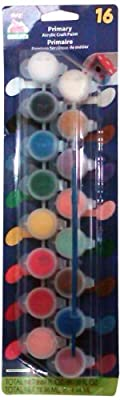 Plaid Primary Acrylic Craft Paint 16 Colours