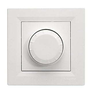 Dimmer LED Halogen 230 Volt max. 600 Watt Ein- Ausschalter Orientierungslicht Weiß
