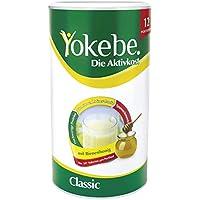 Yokebe Classic Diätshake (zum Abnehmen, glutenfrei und vegetarisch, Mahlzeitersatz zur Gewichtsabnahme mit hochwertigen Proteinen, 480 g) 12 Portionen