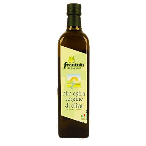 Olio extravergine di oliva di calabria spremitura a freddo prodotto artigianale ml 750