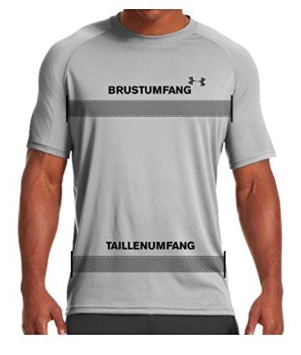 Under Armour Herren Fitness T-Shirt UA Tech Tee grau