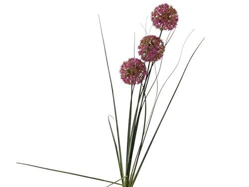 meindekoartikel Allium 3er (Kunstblume) Lila 7x80cm