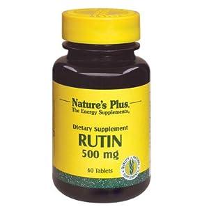 Natures Plus RUTIN 500 MG TABLETS 60