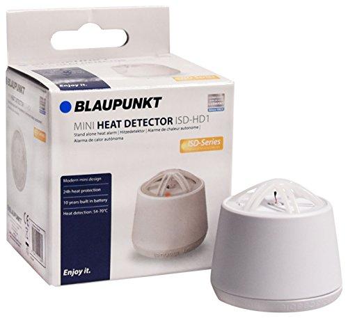 Blaupunkt Mini-Hitzemelder ISD-HD1 I Hitzemelder für Küche, Hobbyraum, Garage, Dachboden, Keller I...