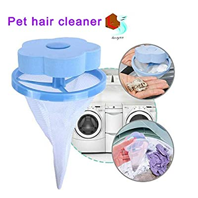 ASOSMOS Floating Pet Fur Catcher Reusable Hair Remover Tool for Washing Machine from ASOSMOS