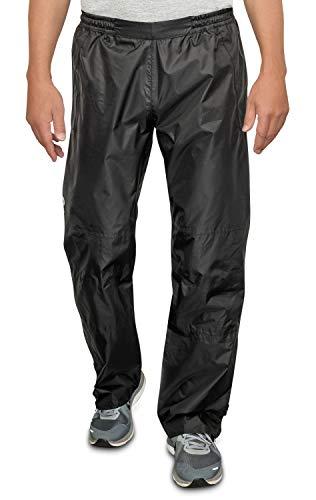 CYCLEHERO Fahrrad Regenhose (Größe L) - Regenhose Herren wasserdicht aus reißfestem Polyester mit reflektierenden Elementen