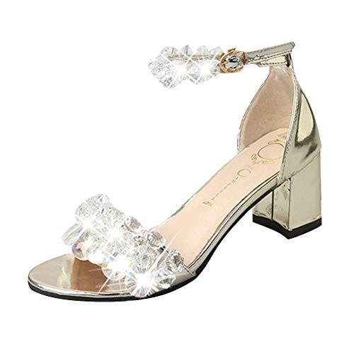 Precioul Damen Schuhe Mode Frauen Reißverschluss Damen Ankle Heels Casual Open Toe Spitze Partei Singel Schuhe High Heels Dicker Absatz Spitze Fischmund Frauen Schuhe -