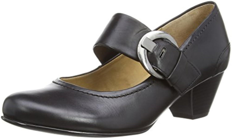 Gabor - Scarpe col tacco, Donna, Donna, Donna, nero Leather, 39 (6 uk) | Queensland  | Uomo/Donna Scarpa  be789e